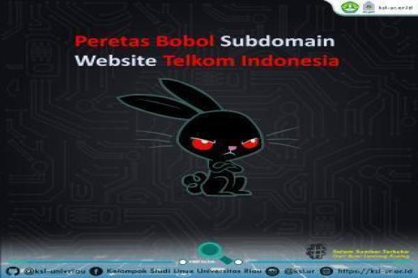 Peretas Bobol Subdomain Website Telkom Indonesia