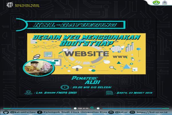 KSL-Gathering Desain Web Menggunakan Bootstrap