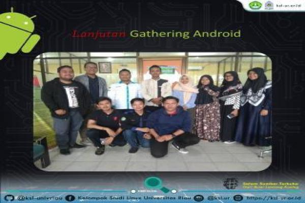 Telah berlangsung gathering Android Studio